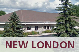 Dr. Lohrbach at OSI's New London Clinic